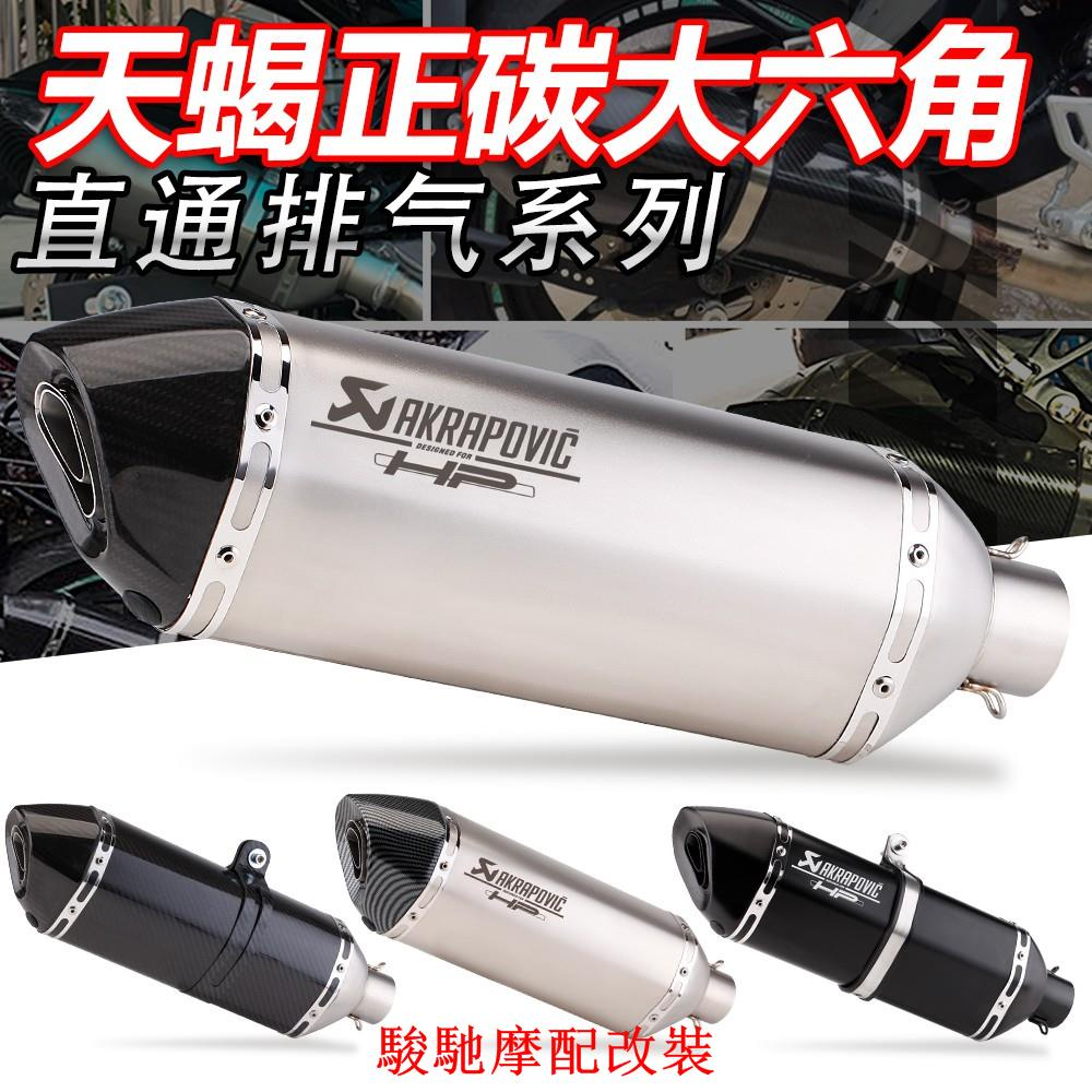 【原廠改裝】蠍子管 排氣管 直通尾段 r15v3 小阿魯 gsx r150 改裝 r3 force smax nma