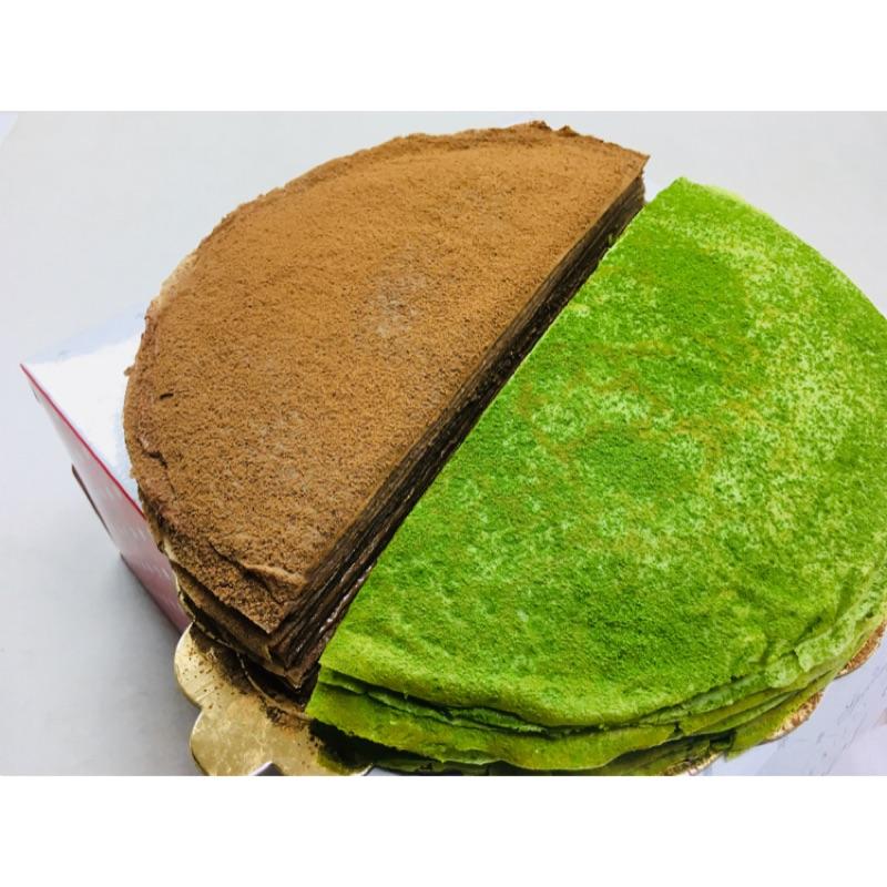 一層一層用心良苦製做的千層蛋糕