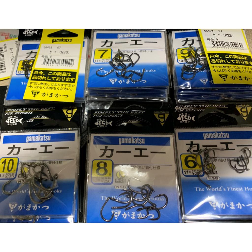 【釣具日本通】GAMAKATSU 力一工一 星點 臭肚鉤 磯釣鉤 魚鉤 (管付)
