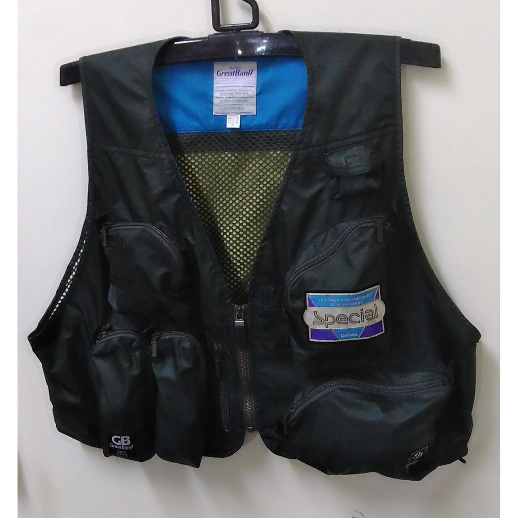 Daiwa Great Banff Fishing Jacket GV-1000 3L Dark Green 二手
