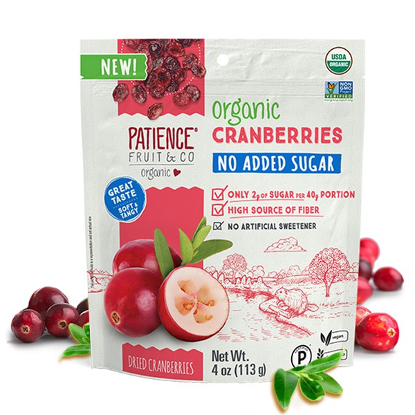 沛森思 ◆ 有機無加糖蔓越莓乾
