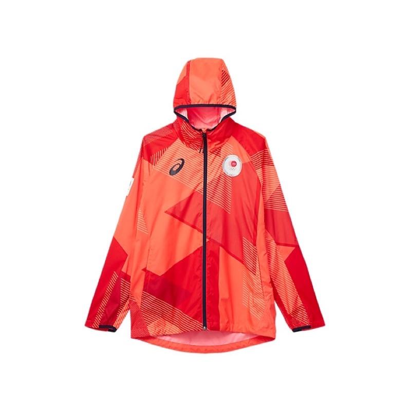 代購 2020東京奧運 亞瑟士製日本代表隊風衣連帽外套