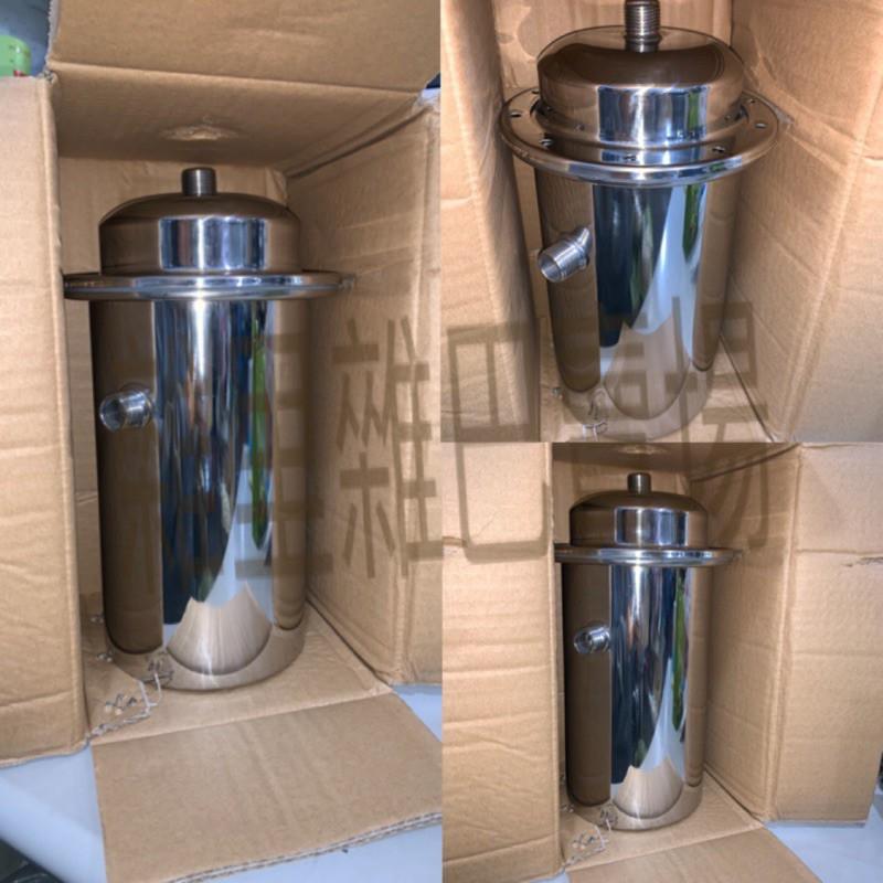 除氯過濾器淨水器濾心洗菜304不鏽鋼外殼洗澡桶淨水器espring汰換濾心濾水淨水再利用安麗益之源