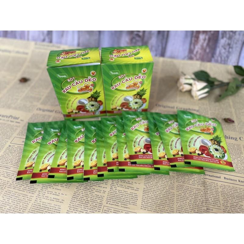 越南進口果凍粉Jelly原味》一盒內含12包 果凍花
