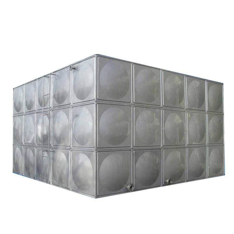 【熱銷儲水桶大型】不銹鋼消防水箱方形臥式儲水罐保溫樓頂水桶304加厚蓄水池水塔【儲水桶】