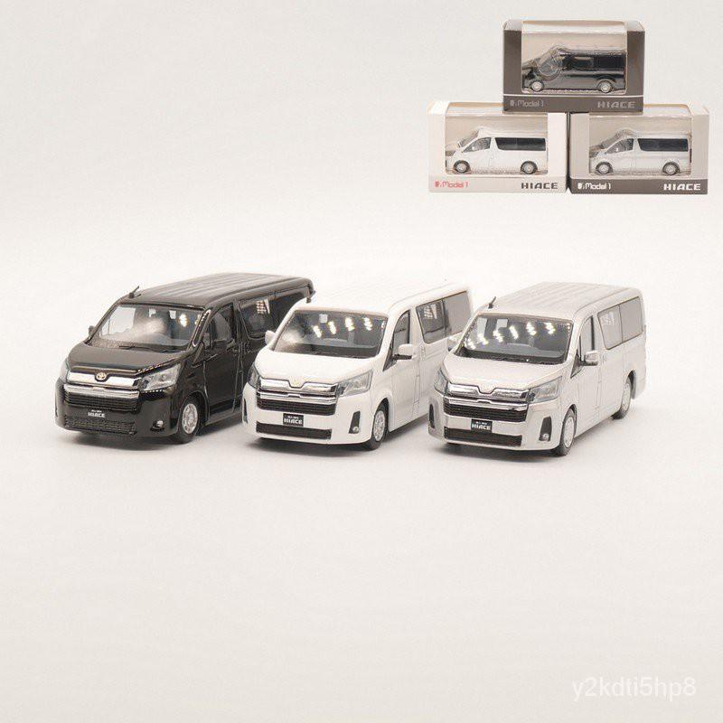 熱銷Model 1 1:64 Toyota Hiace 300最新款豐田海獅合金車模玩具擺件