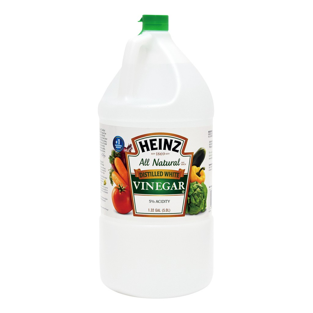 Heinz 蒸餾白醋 5公升 Distilled White Vinegar 5L 好市多 #551214