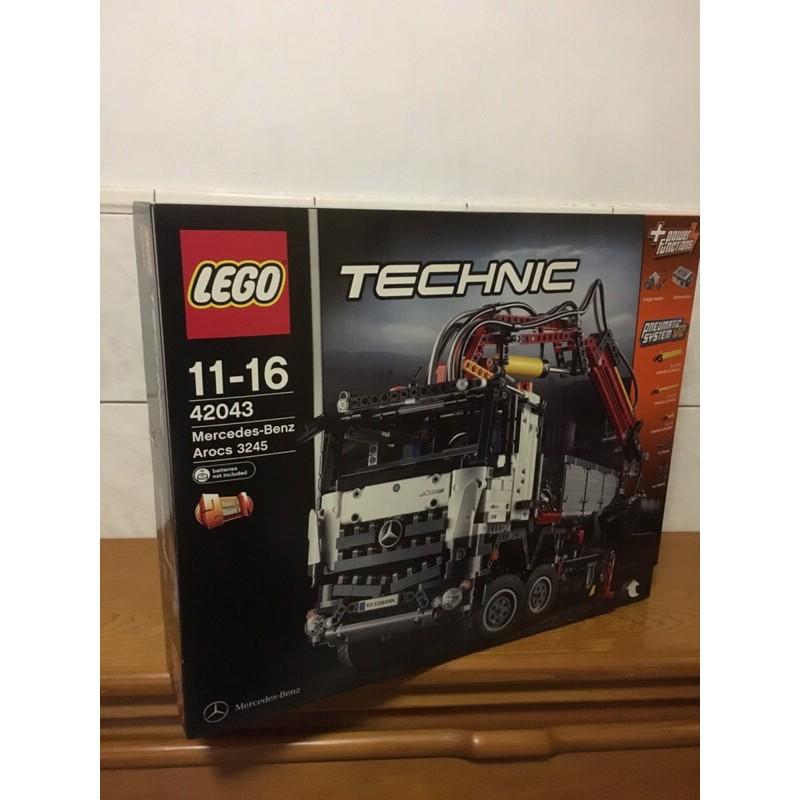 LEGO 42043賓士卡車