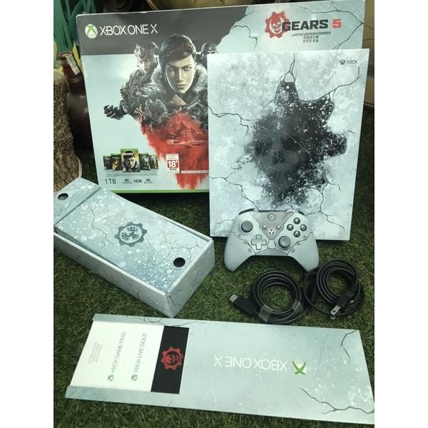 XBOX ONE X 戰爭機器5 限量版主機 限定版主機 同捆機