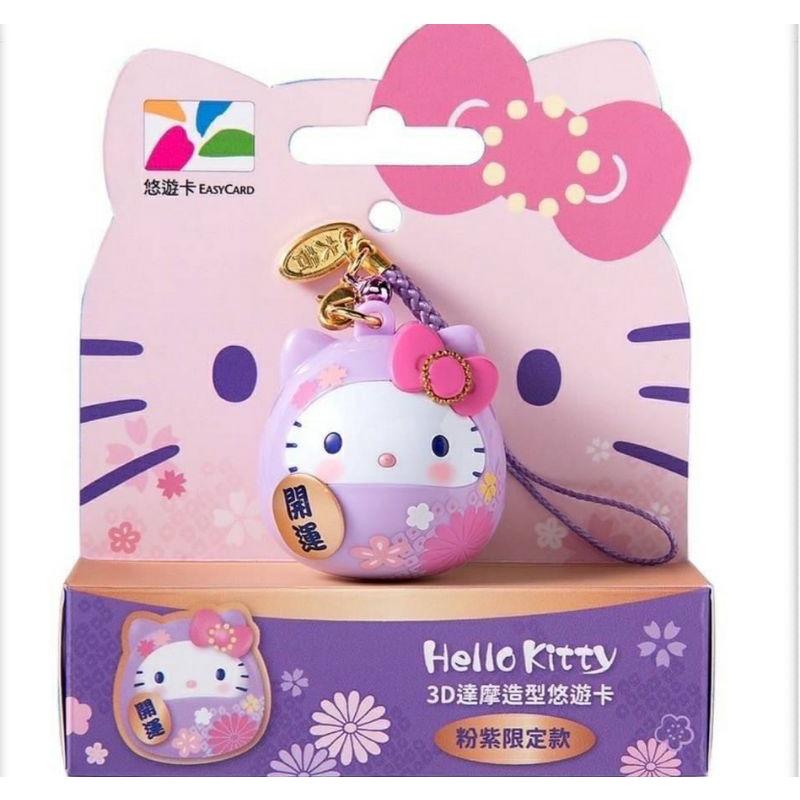 《預購》《12月到貨先聊聊》hello kitty 達摩造型立體悠遊卡
