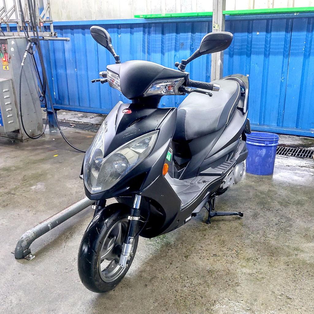 [自售] KYMCO Racing 150 光陽雷霆150 (2012) 自烤消光黑 使用Motul 300V機油