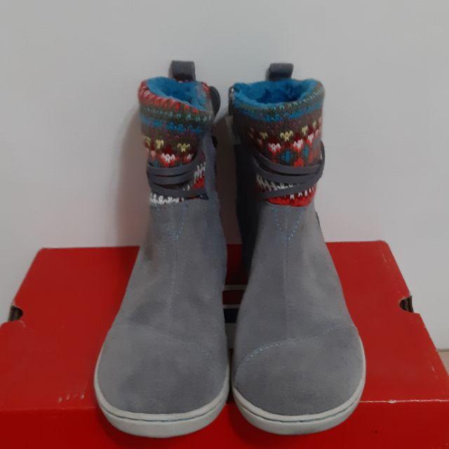 TOMS童鞋雪靴20cm 二手 八成新