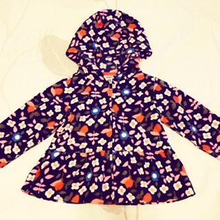 Carter's女幼童碎花短刷毛外套18m 台中市