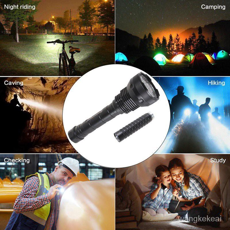 ◆現貨優惠[現貨]100000流明強光手電筒15 * T6 LED手電筒戰術手電狩獵防水手電筒超亮手電筒
