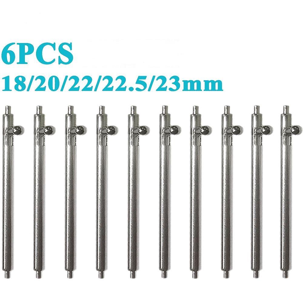 18mm~23mm錶耳針 不鏽鋼錶鍊針 彈簧針 彈簧棒 手錶配件  10PCS 6PCS
