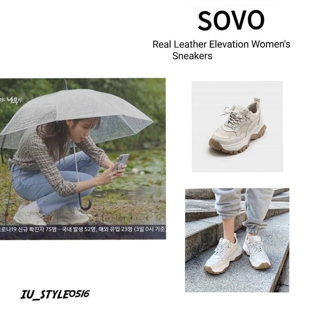 【預購】 SOVO IU 李知恩同款  老爹鞋 運動鞋 內增高球鞋 氣墊鞋 韓國代購