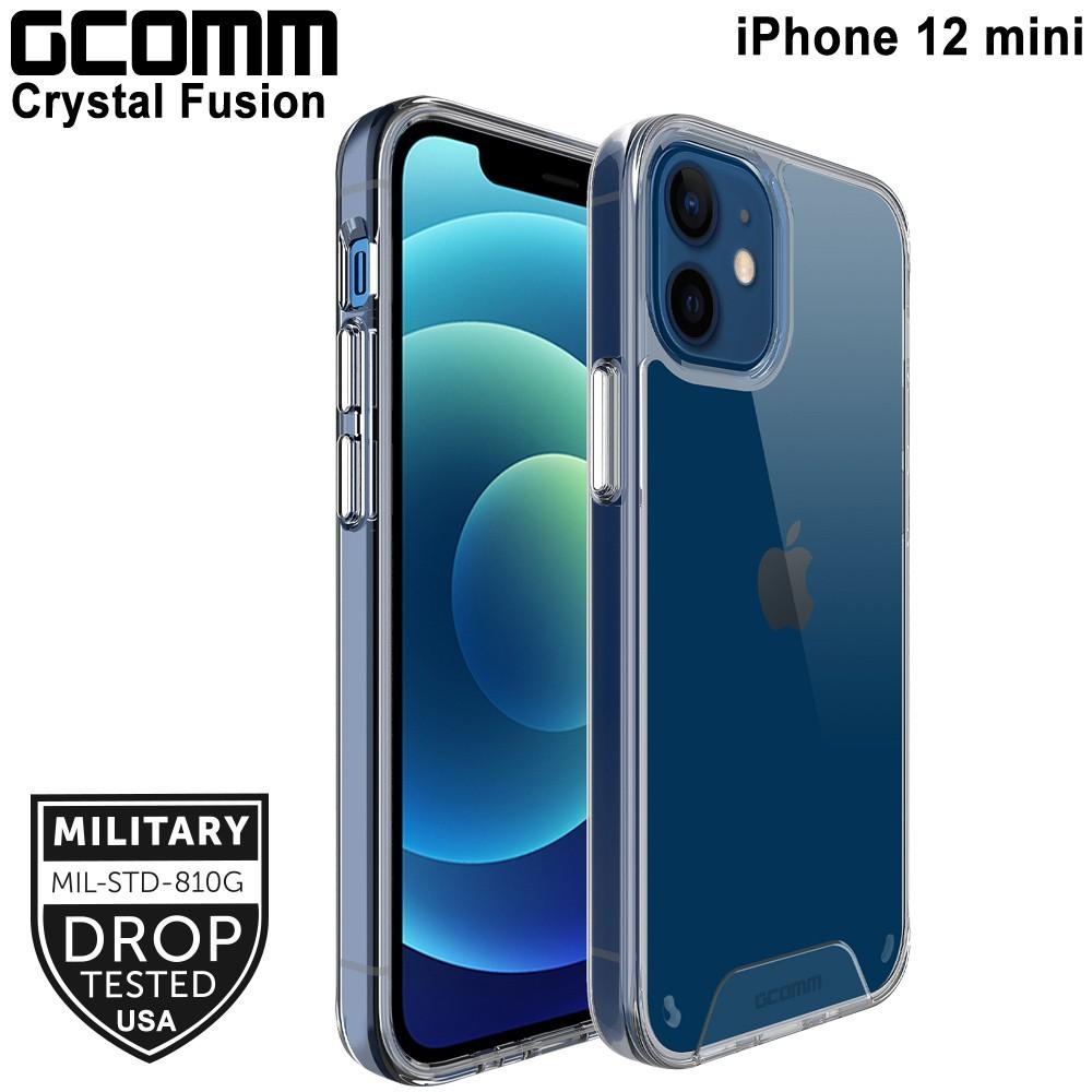 GCOMM iPhone 12 mini (5.4吋) 晶透軍規防摔殼 Crystal Fusion