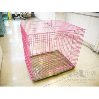 《寵物鳥世界》1.5尺折疊鐵籠 B14#1 烤漆籠 LH003 新北市