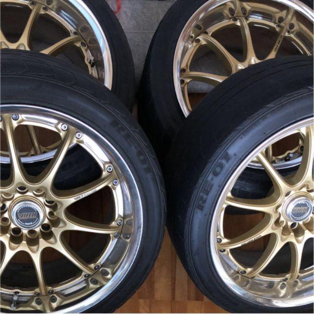 RAYS GTN WRX GDB GC8 鋁圈 兩片式 鍛造鋁圈 深唇