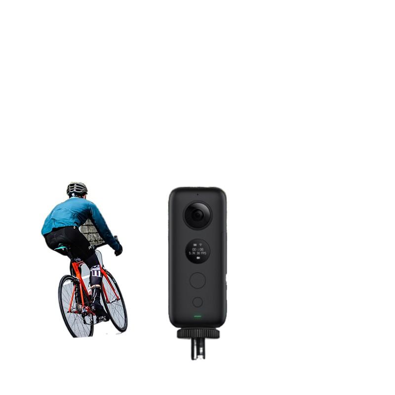 新品上市☬適配insta360 onex配件全景自拍桿 自行車摩托車運動相機手機支架