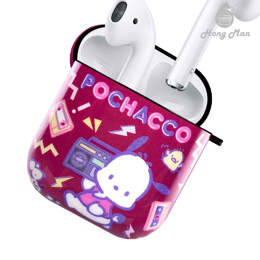 【Hong Man】三麗鷗系列 AirPods 防塵耐磨保護套 帕恰狗 DJ之夜