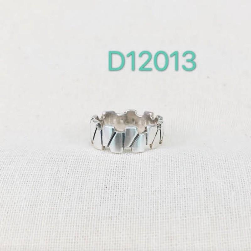 D12013純銀925簡約戒指美國圍5.5號