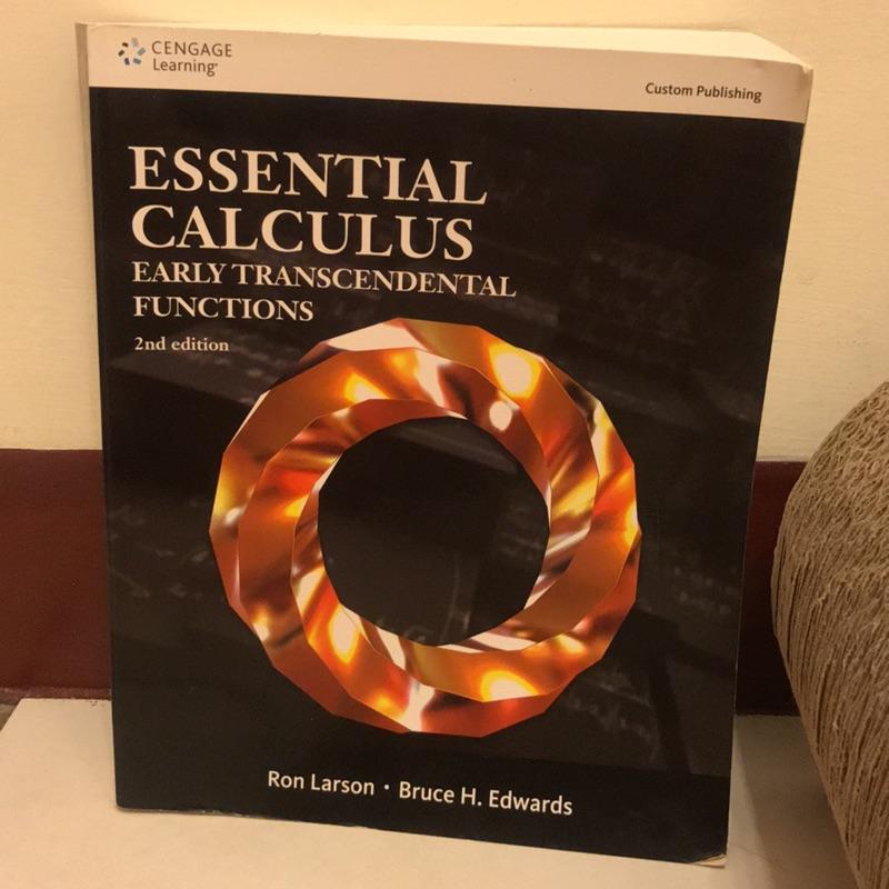 微積分 Essential Calculus 2nd 二版