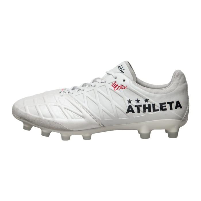 奇星 2020 ATHLETA 阿仕利塔 大人 足球釘鞋 大釘 足球鞋 半袋鼠皮 釘鞋 奧運配色 白 #1001118