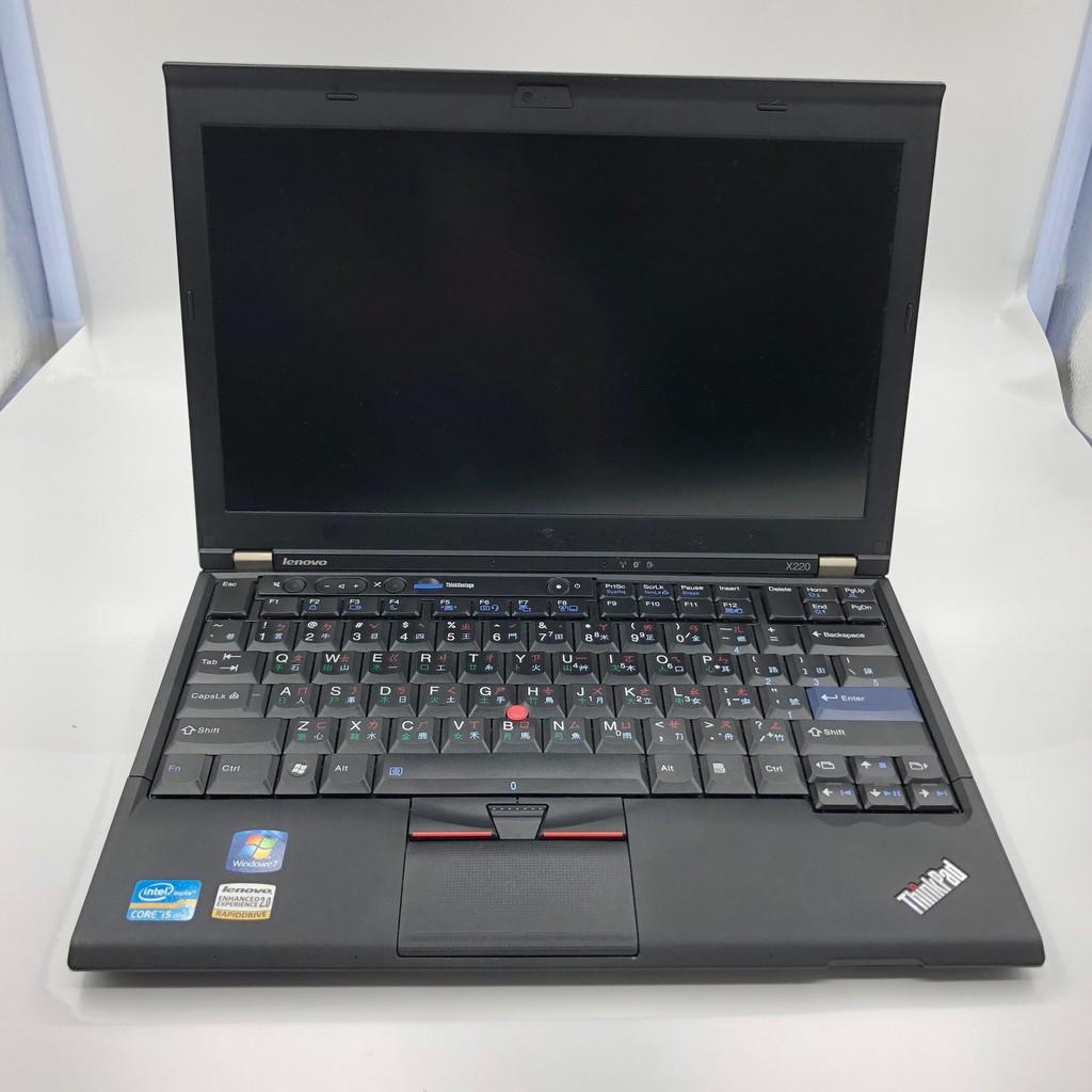 含正版系統!LENOVO ThinkPad X220  i5 2520m 4G 128G (商務人士愛用機)
