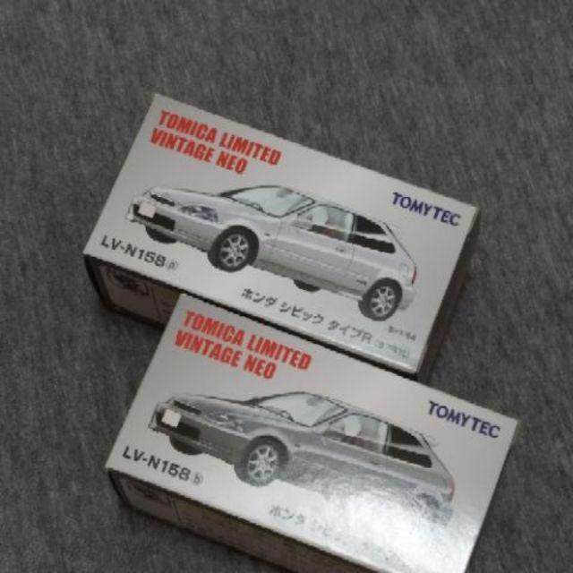 全新白/銀 EK9  LV-N158a LV-N158b Civic EK9 Tomica 多美