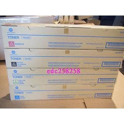 金儀 konica minolta bizhub C258 bizhub c308 c368 影印機原廠碳粉tn324