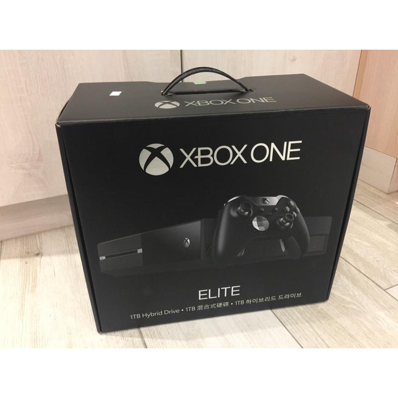 二手正版Xbox One elite菁英遊戲主機+菁英手把