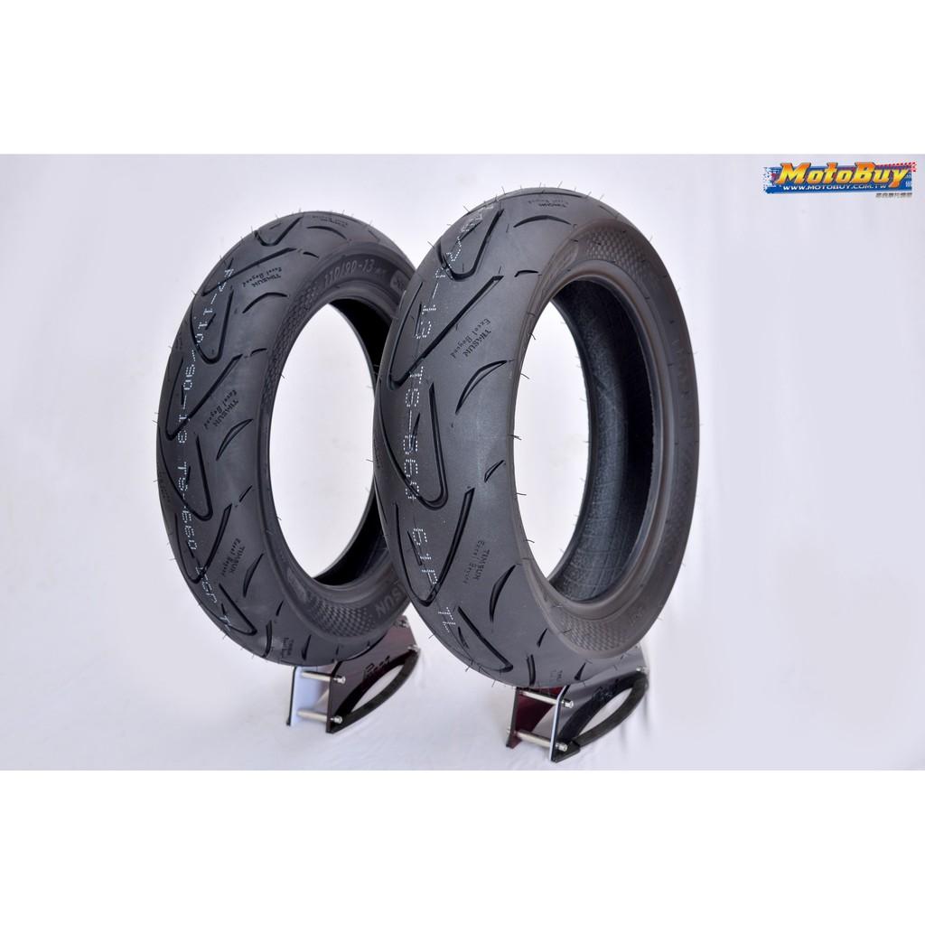 TIMSUN 騰森輪胎 日本認證 TS-660 高抓胎 130/70-13 Smax Force