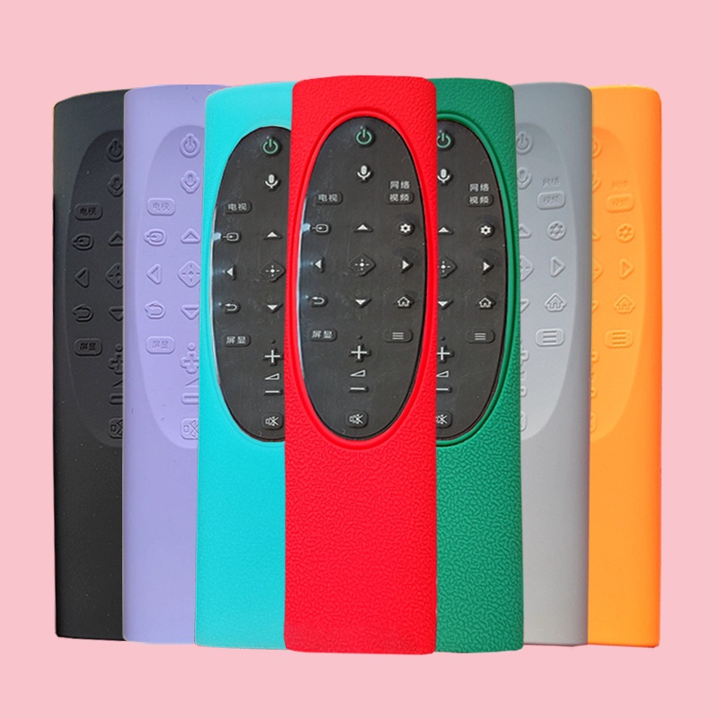3C數碼樂購量販 可分期            Sony索尼65寸x90j語音電視機遙控器保護套9500h全包硅膠防摔可