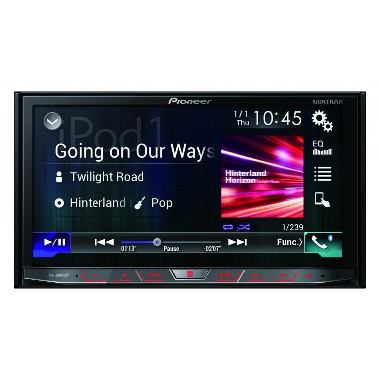 (現貨)PIONEER AVH-X8850BT 7吋觸控DVD主機 carplay主機