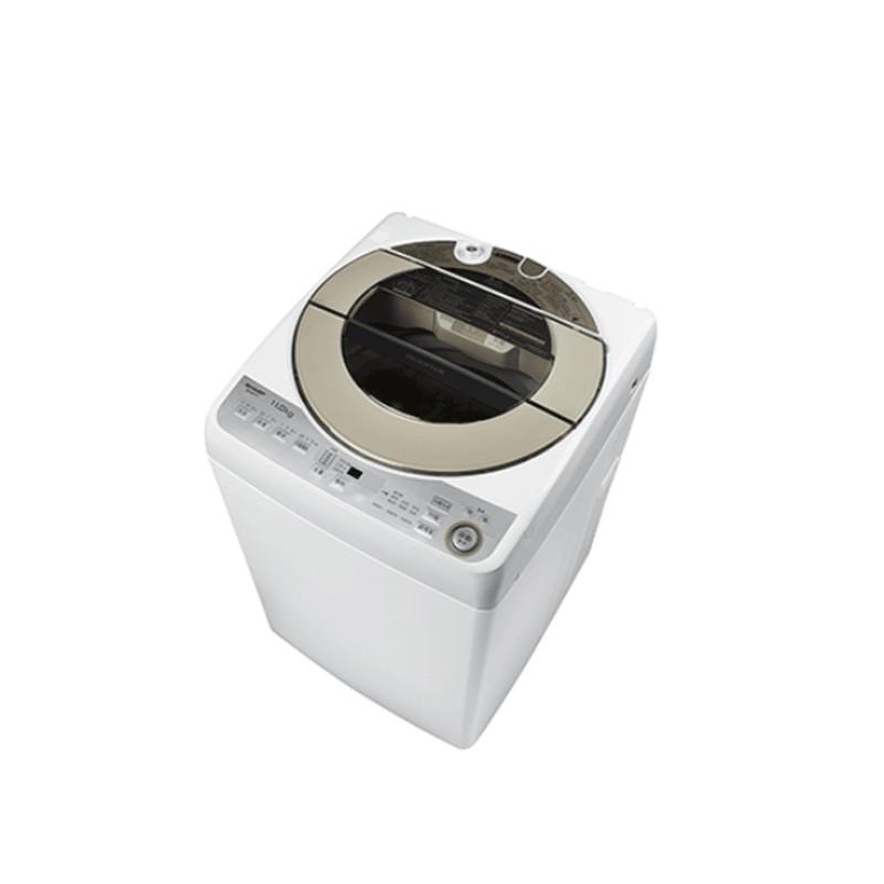 夏普 11公斤 直立式無孔槽變頻洗衣機 廠商直送