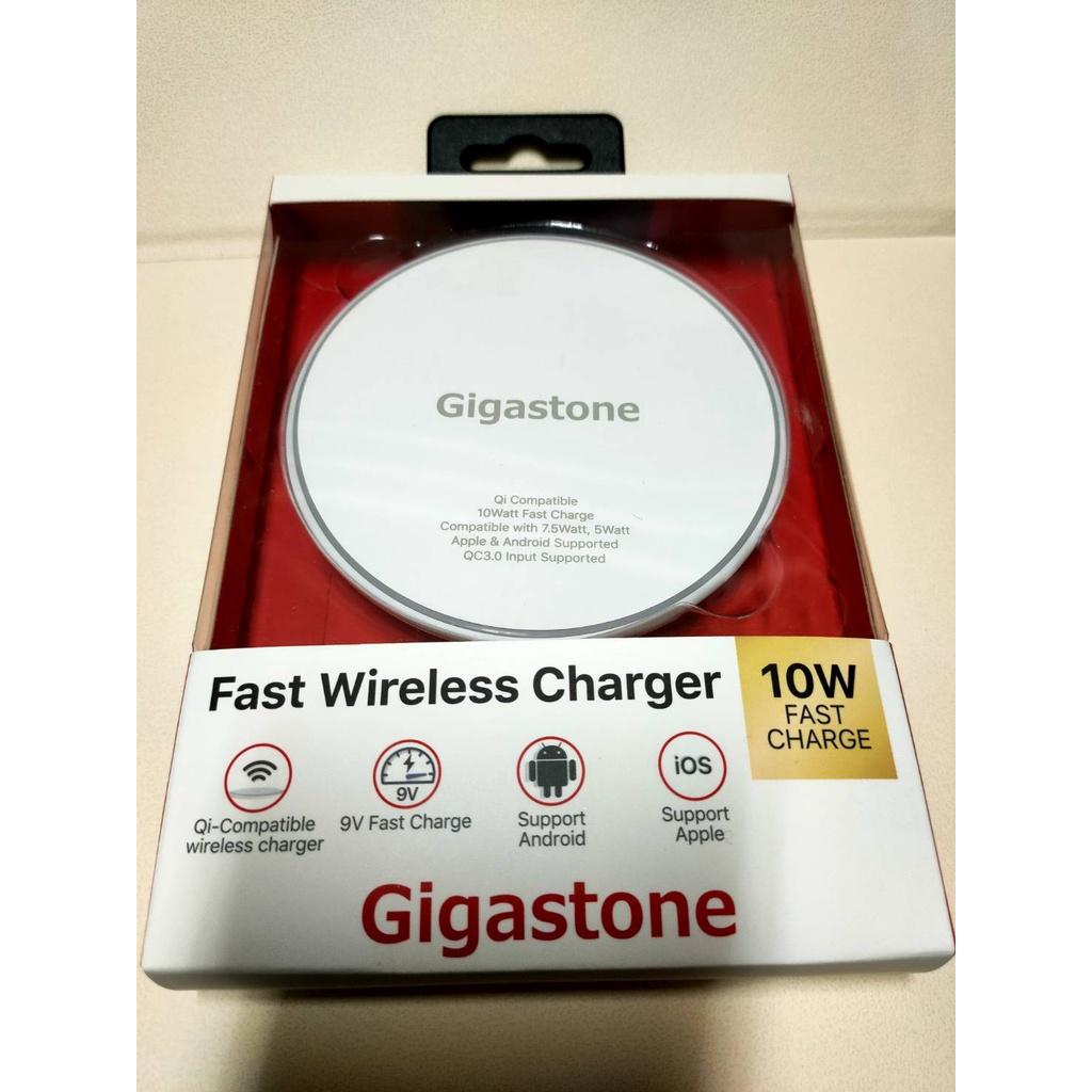 Gigastone WP-5210 10W 無線快充充電盤(白色)-全新未拆