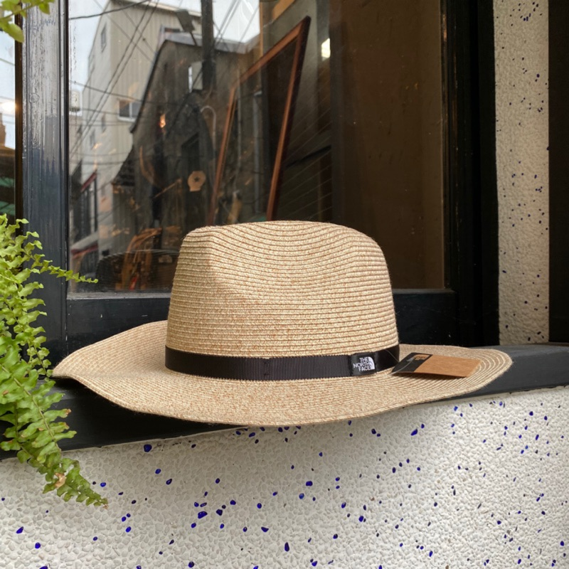 {FLOM} 台南實體店 THE NORTH FACE WASHABLE BRAID HAT 草帽