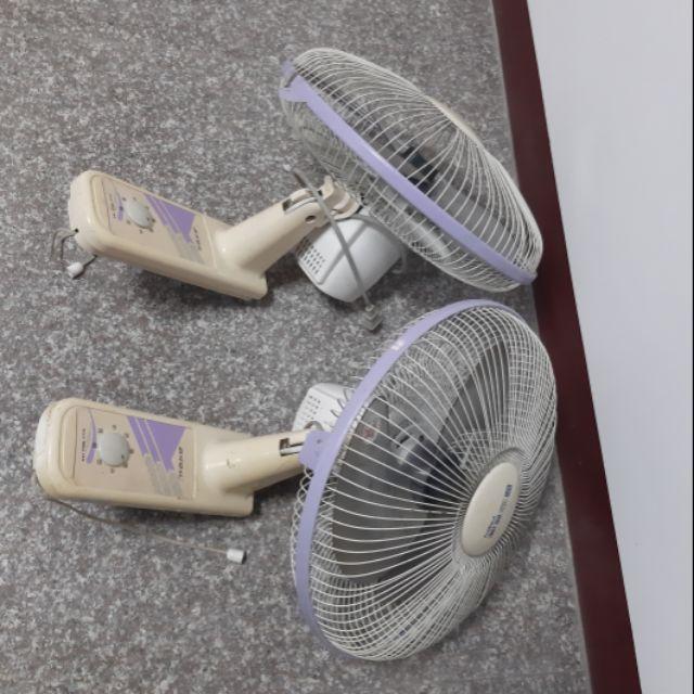 <二手壁掛式電風扇>