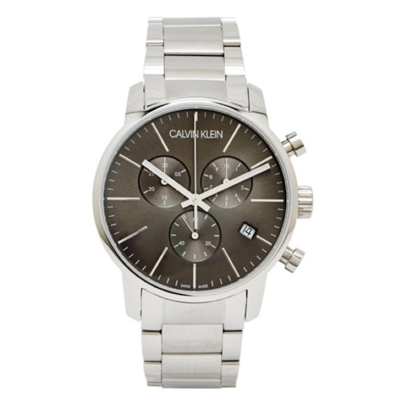 「CALVIN KLEIN」ck三眼帶日期錶❤️