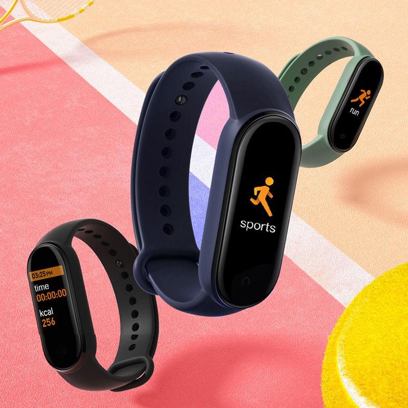 小柒m5智能運動磁吸手環優活心率血壓監測小米華為Fitpro樂動健康計步