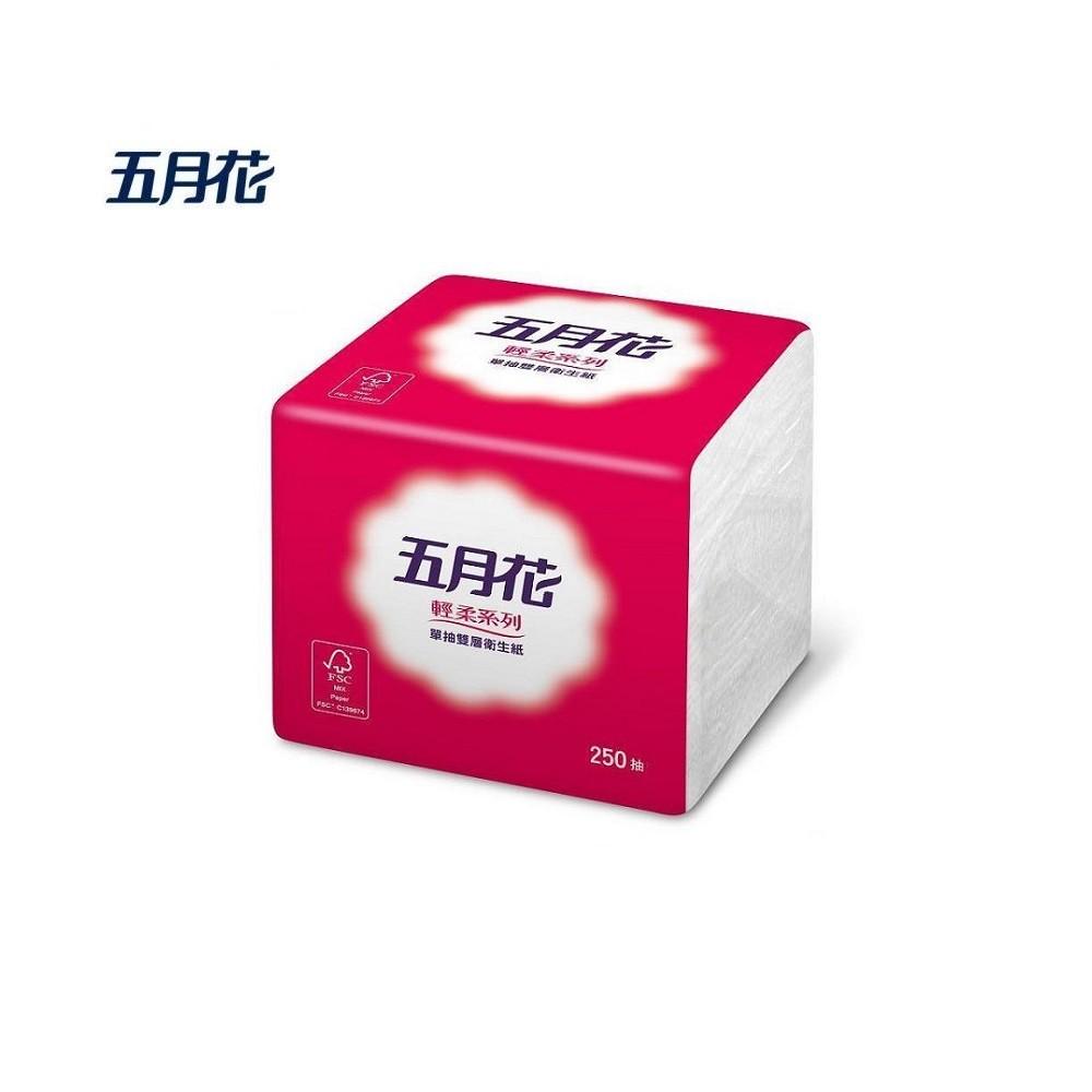 ijm 五月花 0102262 單抽式雙層衛生紙 250抽*48包*箱/48包