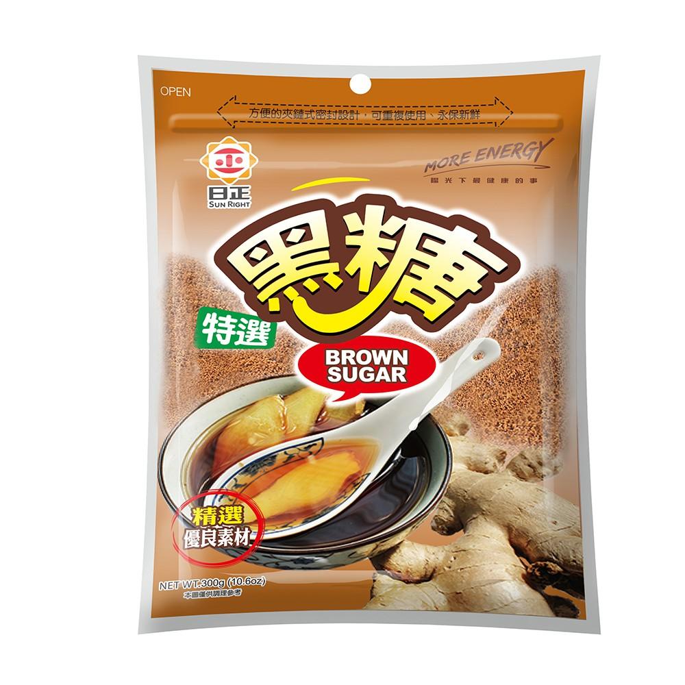 【日正食品】特選黑糖300g