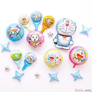 #派對☎哆啦A夢機器貓主題六一兒童節男孩生日派對氣球背景墻裝扮布置品