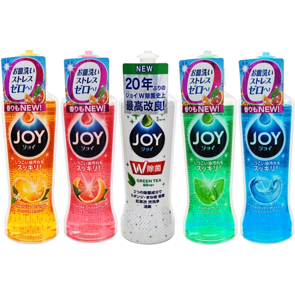 日本P&G~JOY速淨除油濃縮洗碗精(175ml/190ml)【小三美日】D675000