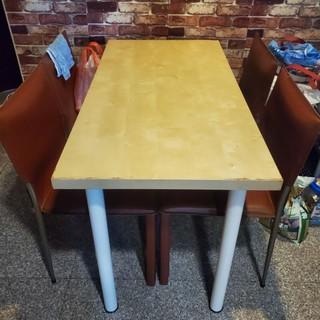 簡易木餐桌 二手傢俱出清 (120 x 60) 新北市