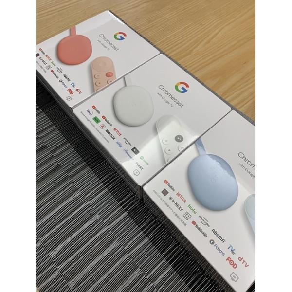 【美國現貨】ChromeCast with Google TV 4K 第四代 電視盒 網路電視 智慧鏡射投影 串流影音