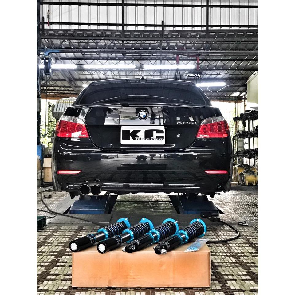 『全新』BMW E60 E61 03~10年 KC-racing 高低軟硬可調 避震器