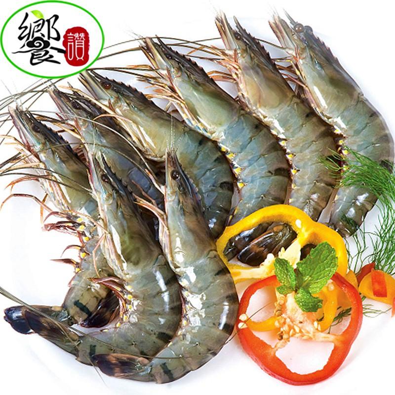 活凍南洋野生大草蝦-8尾/盒