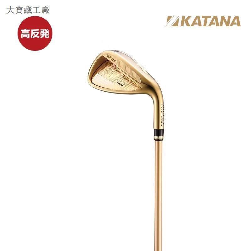 【高品質】KATANA球桿VOLTIO NINJA 880Hi 高爾夫男士鐵桿組 高反彈